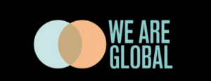 We are global PR logo
